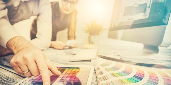 Graphic designers develop the overall layout and production design for advertisements, brochures, magazines, and corporate reports.